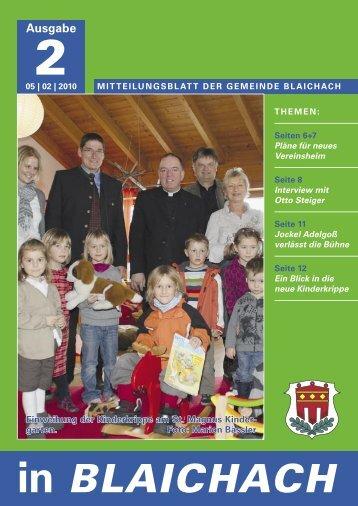 vereinsnachrichten - Gemeinde Blaichach