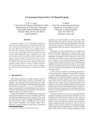 A Consensus Protocol for CAN-Based Systems - LaSiD ...