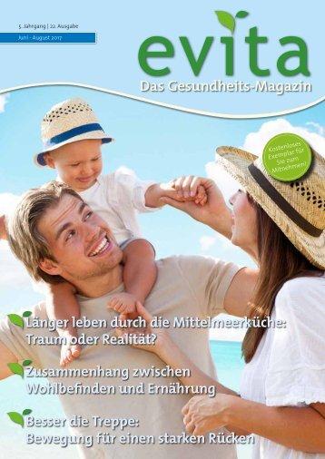 Evita Magazin Juni - August 2017