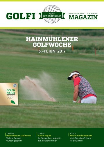 Golfi, Ausgabe Sommer 2017