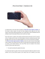 iPhone Screen Repair – 3 Questions to Ask