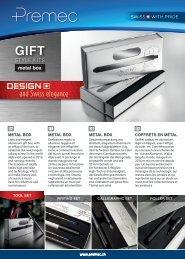 Premec Gift Style Kits Metal Box