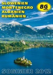 BGTOURS Slowenienmontenegromehr So12