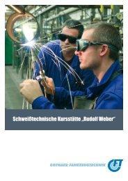 """Schweißtechnische Kursstätte """"Rudolf Weber"""" - Gothaer ..."""