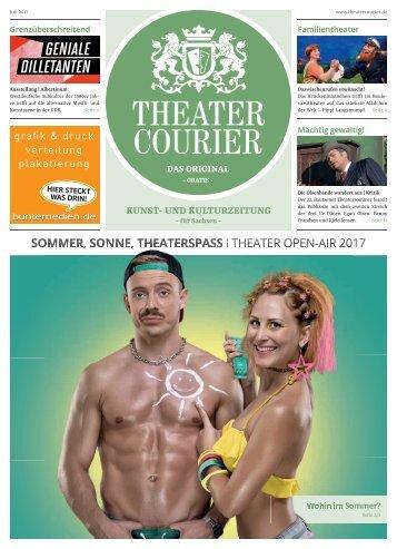 TheaterCourier Juli/August 2017