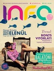 InfoPont magazin JÚLIUS