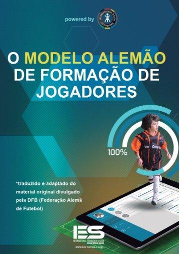 O MODELO  ALEMÃO DE FORMAÇÃO DE JOGADORES