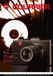 Ein neues Design für die Altbekannte - Leica Camera AG
