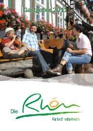 BAYERISCHERHOEN Gastgeber 2011