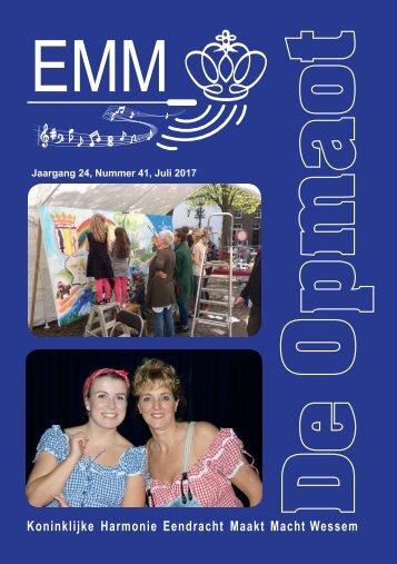 Layout EMM De Opmaot DRUK  juli  2017