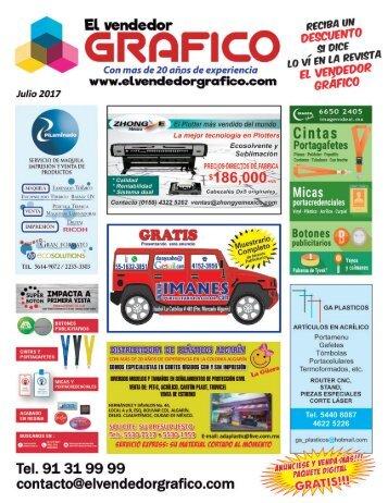 Revista El Vendedor Gráfico Julio 2017.