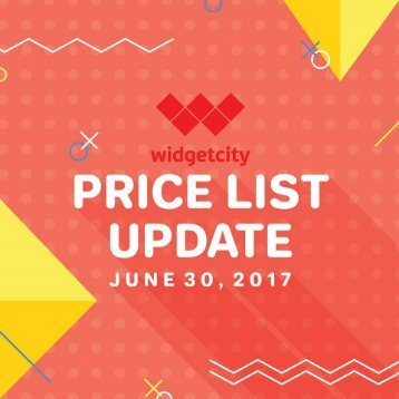WIDGET CITY MOBILE PRICELIST as of July 1, 2017