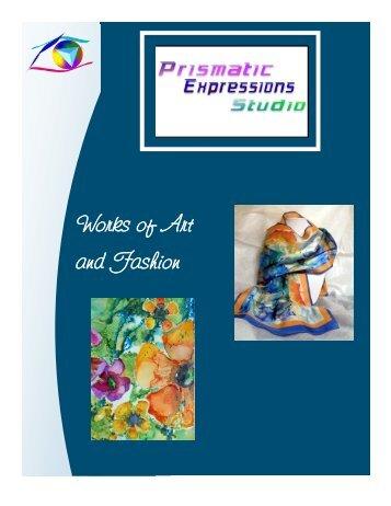 Portfolio for Prismatic Expressions: Art and Fashion