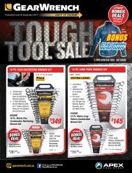 GearWrench Tough Tool Sale