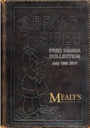 MEALY'S - Mealys Auctions