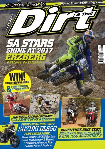 Dirt and Trail Magazine July 2017 issue