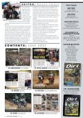 Dirt and Trail Magazine July 2017 issue - Page 6