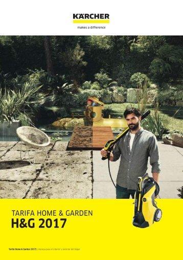 02 CATALOGO TARIFA HOME & GARDEN 2017 Rev4