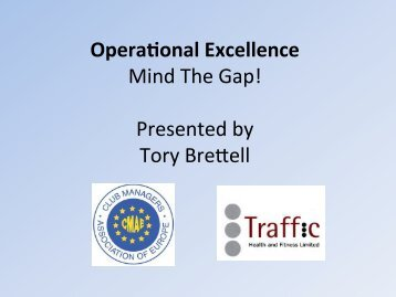 Day 3 - Operational Excellence