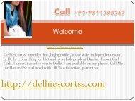 Delhi Escorts Services for you