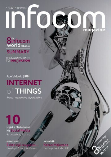 5th Infocom Magazine (July 2017)