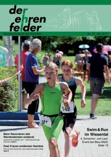 Der Ehrenfelder 91 – Juli 2017