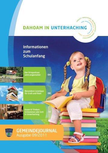 GJUnterhaching 09_2011.pdf (2,9 MB) - Gemeinde Unterhaching