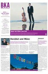 Berner Kulturagenda 2017 N° 26