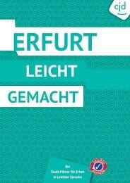 Stadtführer für Erfurt in Leichter Sprache