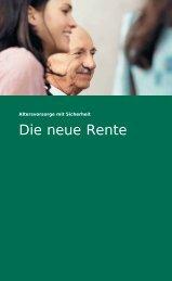 Neue Rente - S. Schuck Dienstleistungen