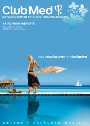CLUBMED Sonnenresorts Wi1112