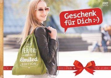 Geschenk für Dich Katalog Herbst/Winter 2017
