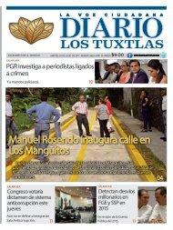 edición de diario los tuxtlas del día 04 de julio de 2017