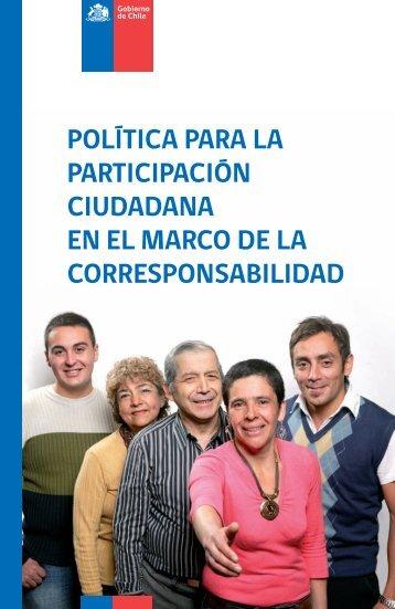 Política para la Participación Ciudadana en el Marco - Ministerio ...