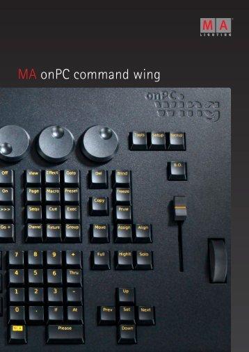 MA onPC command wing