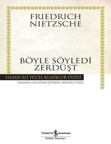Friedrich_Nietzsche_-_B_yle_S_yledi_Zerd_t_epu