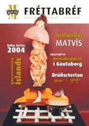 3. Fréttabréf 2004 - Matvís