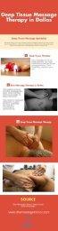 Deep Tissue Massage Therapy in Dallas