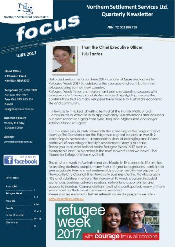 NSS JUNE NEWSLETTER 2017