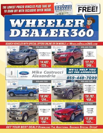 Wheeler Dealer Issue 27, 2017