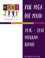 2016-2017 Annual Program Report