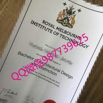 办毕业证澳洲文凭Q微987739625RMIT diploma