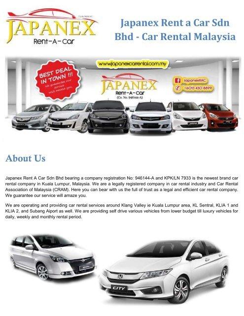 Budget Car Rental Malaysia