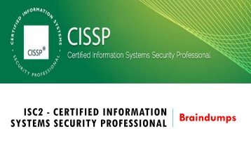 CISSP Braindumps