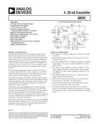 AD694 (Rev.B) - Analog Devices