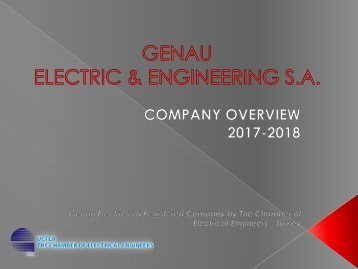 Genau Electric Presentation - EN (2017)