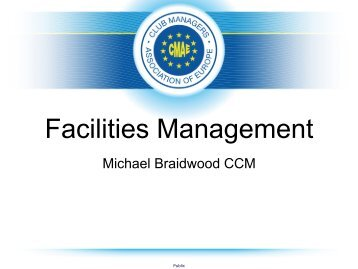 Michael Braidwood Presentation