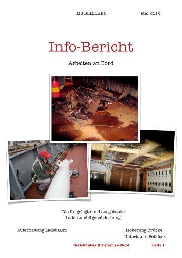 Arbeiten 1. Quartal 2012 - MS Bleichen