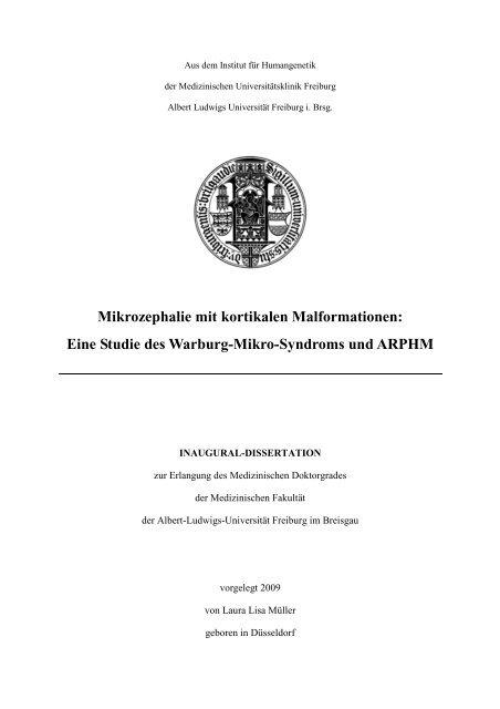 Druckexemplar Dissertation 13.07.09 - FreiDok - Albert-Ludwigs ...