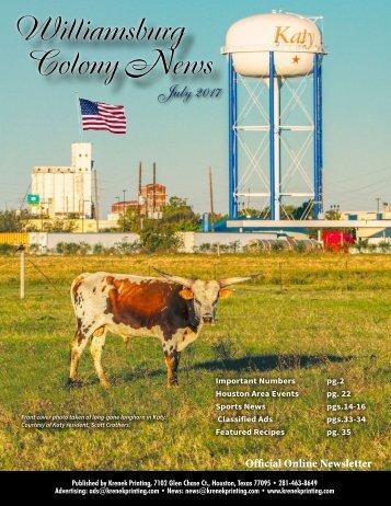 Williamsburg Colony July 2017